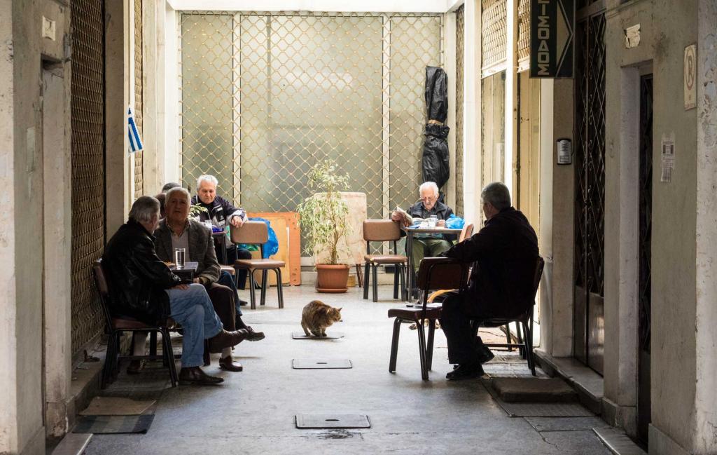 Glück und Langlebigkeit auf Griechisch