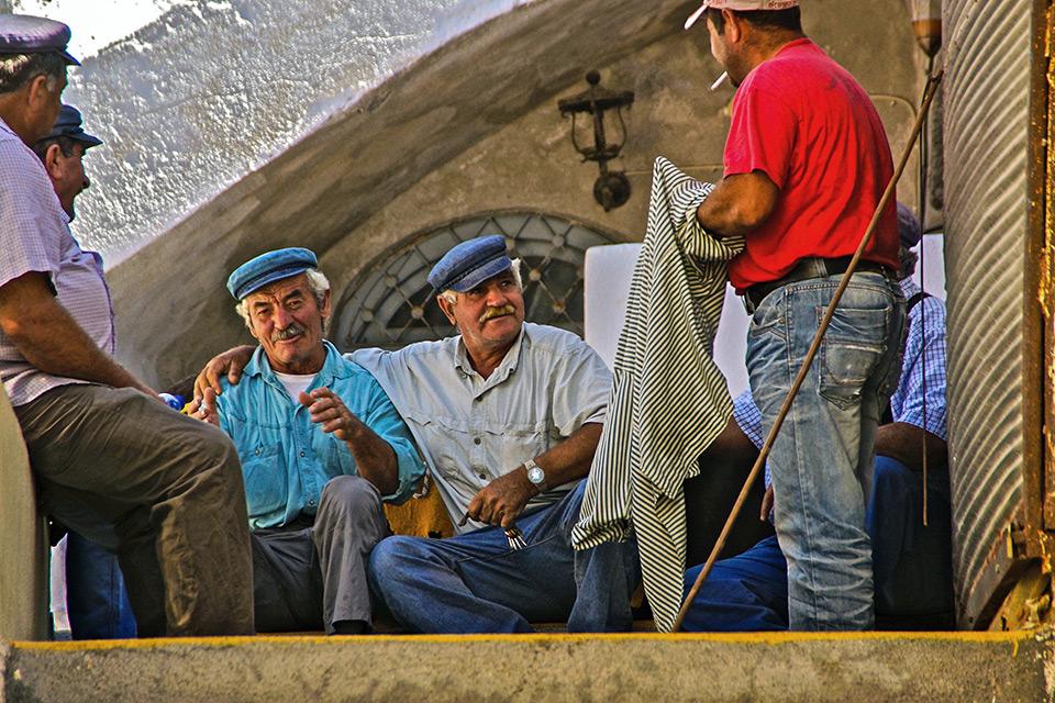 Griechische Mentalität: Gesten.  Fotoquelle: grekomania.ru